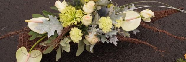 Kompozycje nagrobne były tematem ostatnich warsztatów florystycznych…