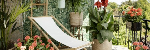 Green Living: kolorowe sny na tarasach i balkonach